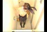 バニーガール洋式トイレ盗* 3 RKS-024