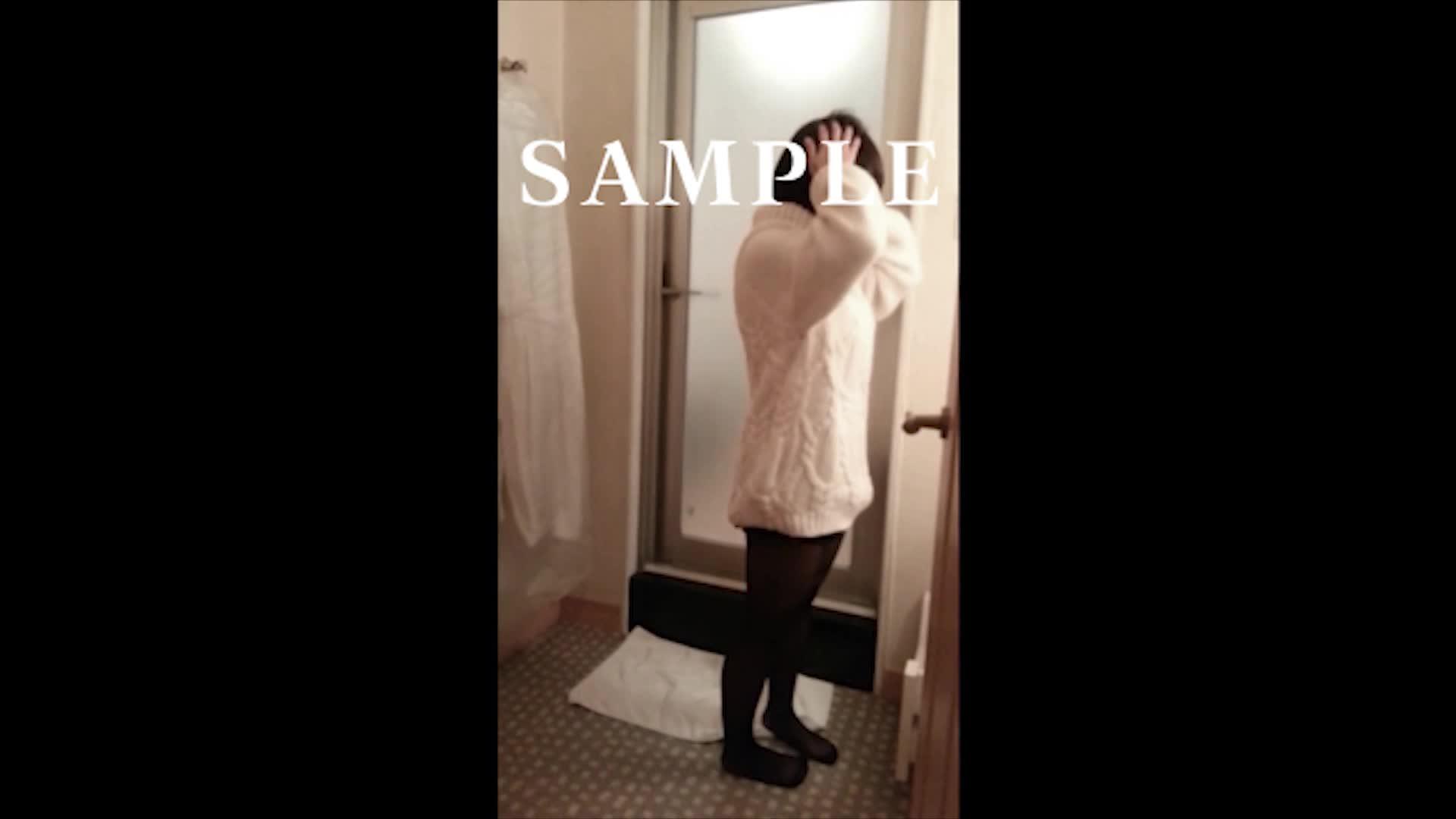 【個人撮影】素人顔出し!Hカップのあの子がトイレでフェラ&パイズリ!